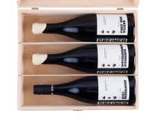 Ouvertüre Rouge - Trio aus Pinot Noir in exquisiter Holzkiste