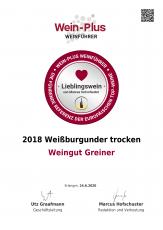 Marcus Hofschuster bewertet zwei Lieblingsweine - Unsere 2018er Weißburgunder & Chardonnay +++ HERVORRAGEND