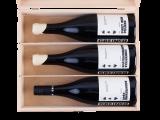 Ouvertüre Rouge - Trio aus Pinot Noir in exquisiter Holzkiste -ausgetrunken